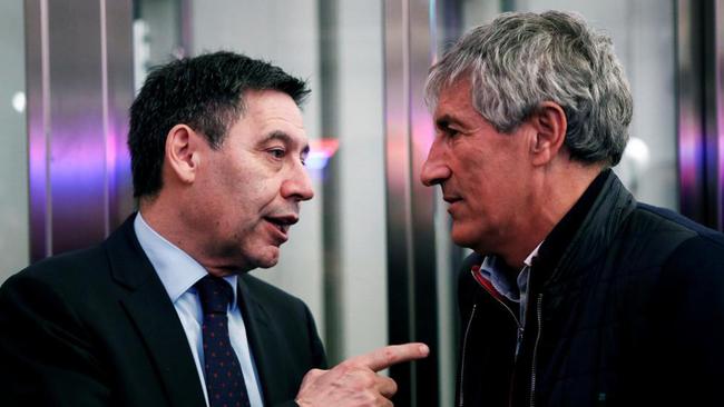 """Setién anuncia acciones legales contra el Barça: """"Me informaron ayer del despido"""""""