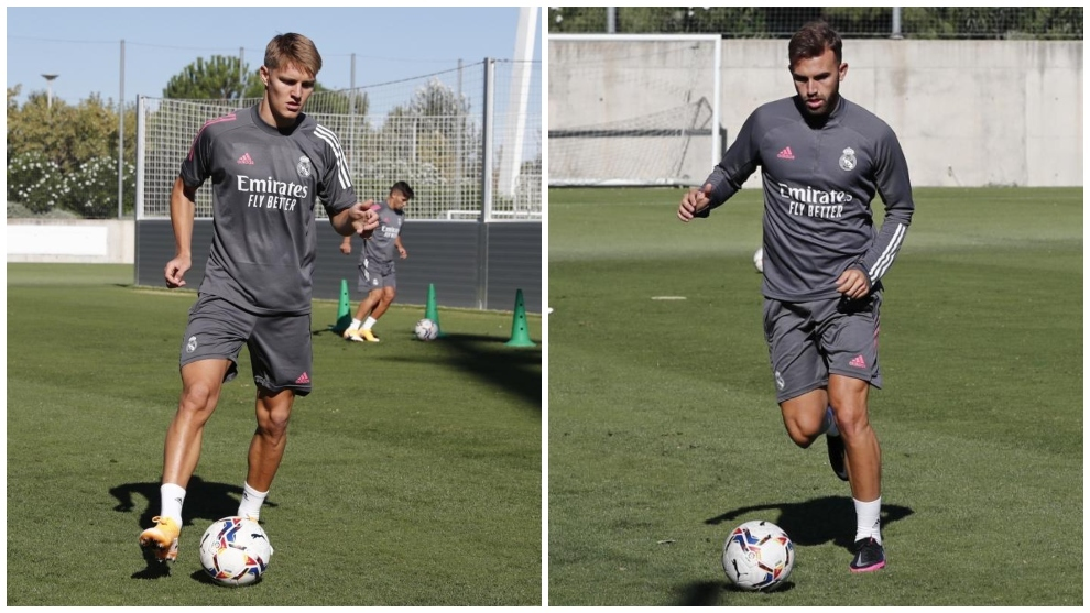 Odegaard and Mayoral given first-team squad numbers