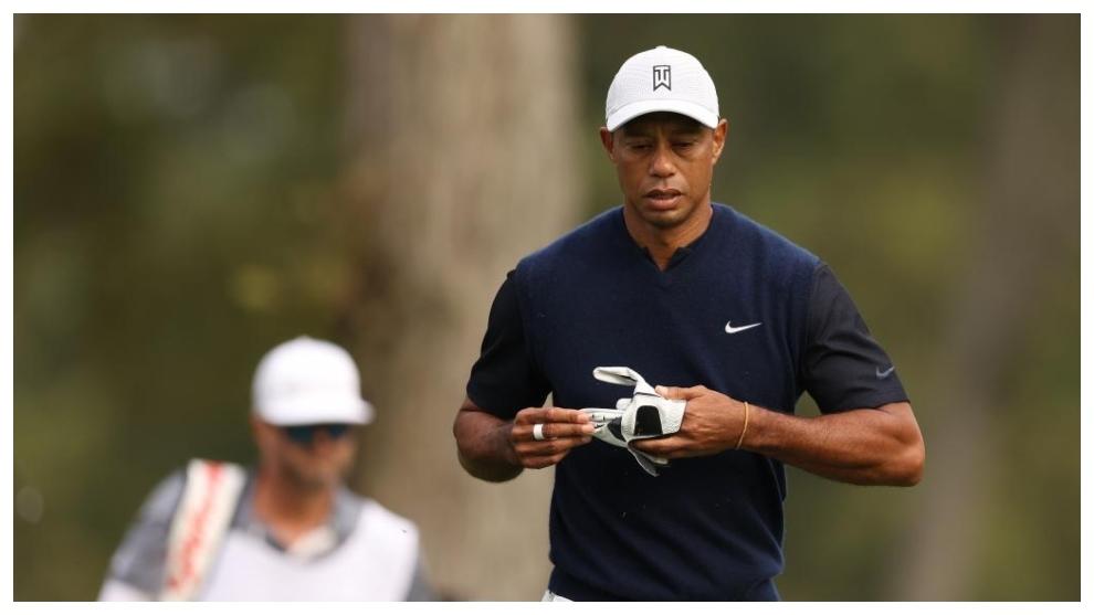 Tiger Woods, durante la primera jornada del US Open