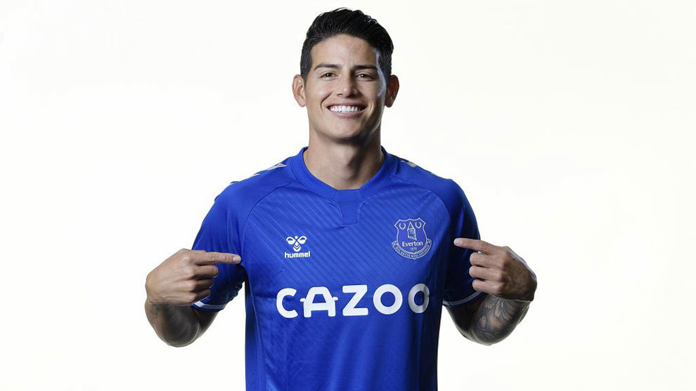 Banfield: James moved to Everton for free