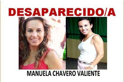 Manuela Chavero desapareció en Monesterio (Badajoz) en julio de 2016