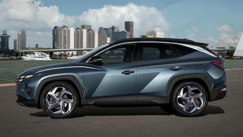 La cuarta generación del Hyundai Tucson.