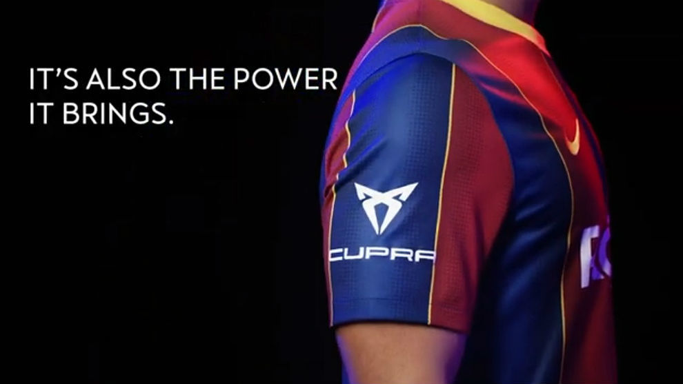 Cupra y el Barça promueven una acción solidaria en el Trofeo Gamper