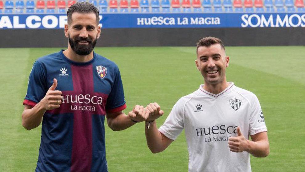Siovas y Borja García, últimas incorporaciones oscenses