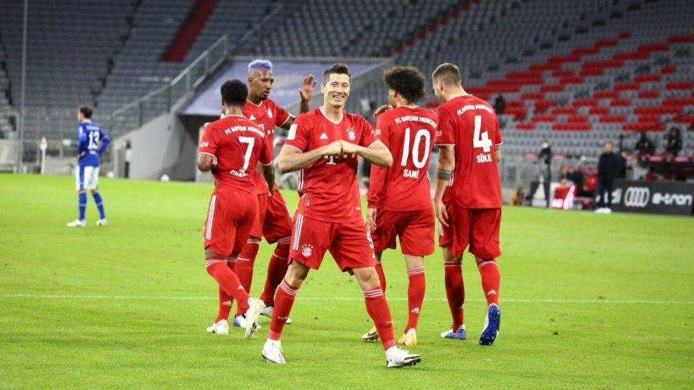 El Bayern, de ocho en ocho,  y toca el Sevilla
