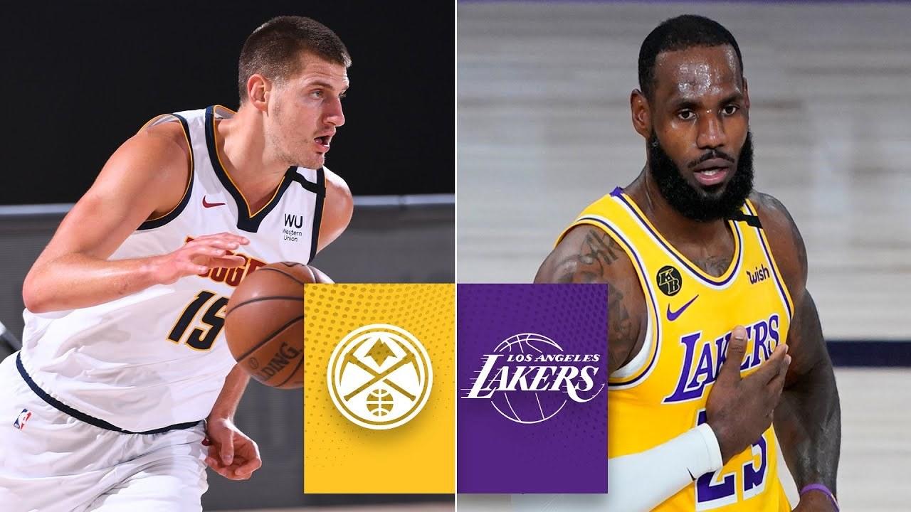 Denver Nuggets - Los Angeles Lakers: resumen, resultado y estadísticas del primer partido