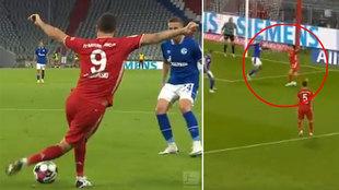 La brutal asistencia de rabona de Lewandowski: el Balón de Oro era suyo