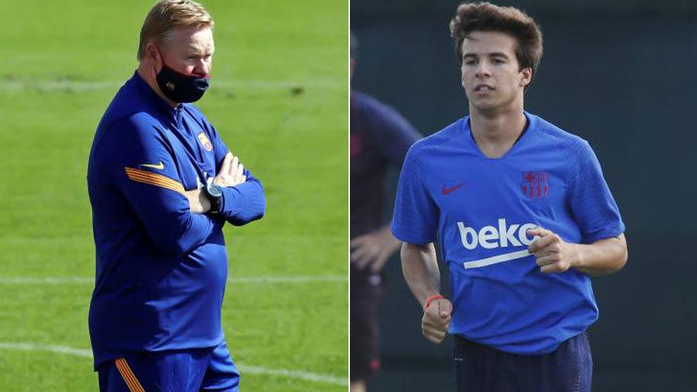 Bombshell from Koeman: Informs Riqui Puig he's no longer needed at Barcelona