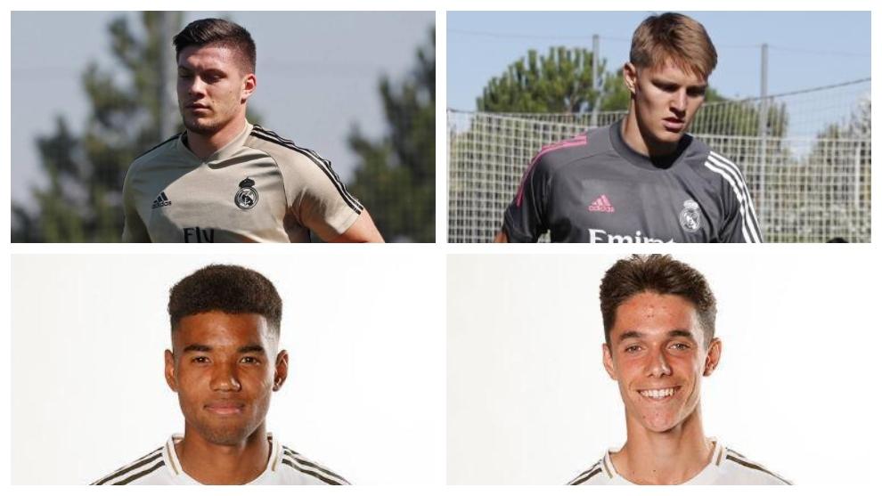 Zidane recupera a Jovic y Odegaard y sorprende con los mirlos Marvin y Arribas