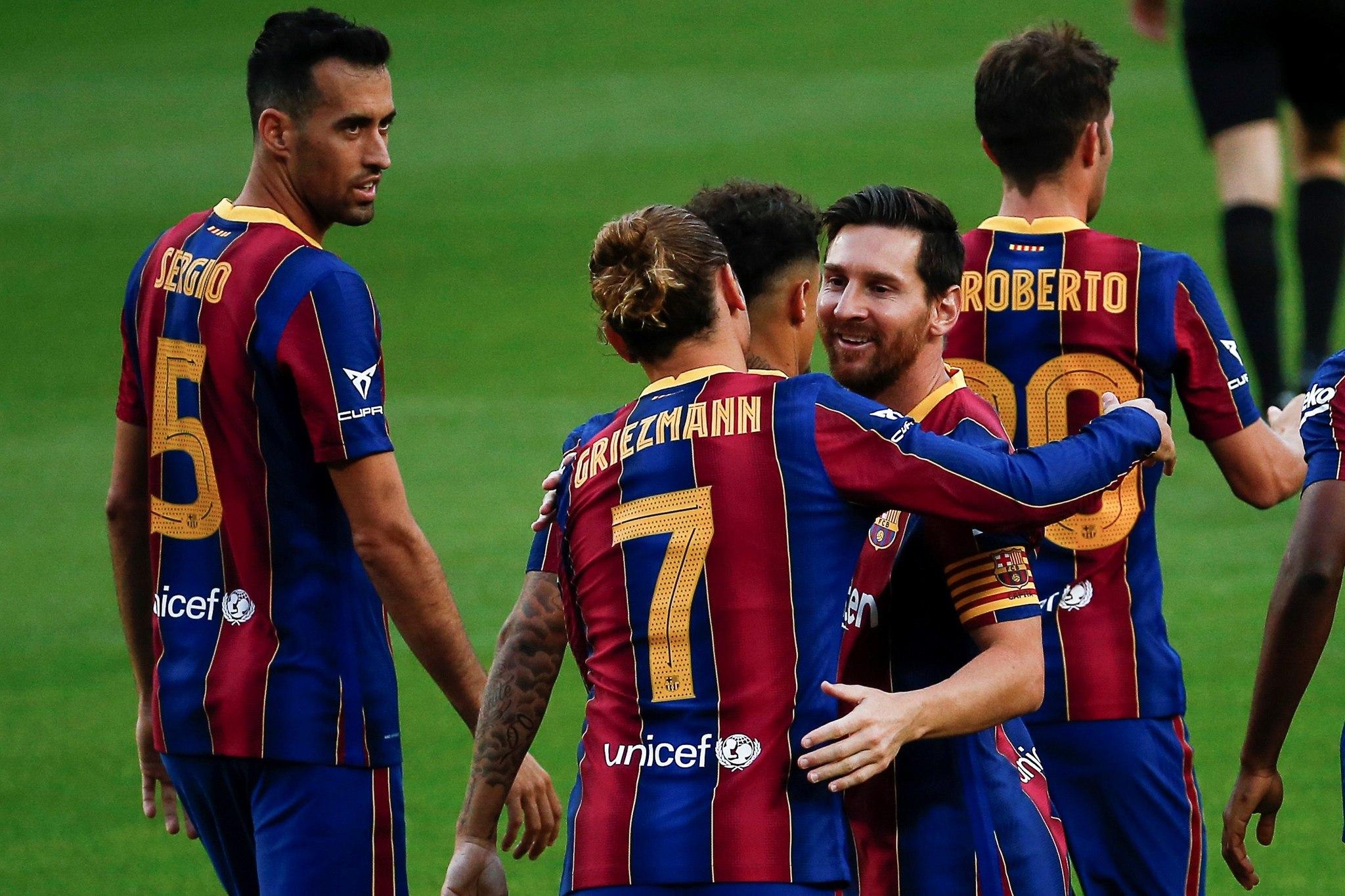 Barcelona - Elche CF: resumen, resultado y goles