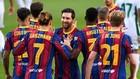 Messi vuelve a sonreír