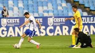 Vuckic marca el único gol del partido.