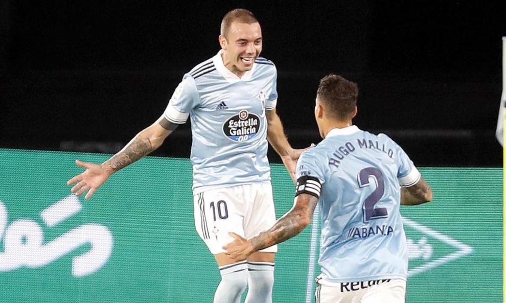 Aspas double enough to beat Valencia