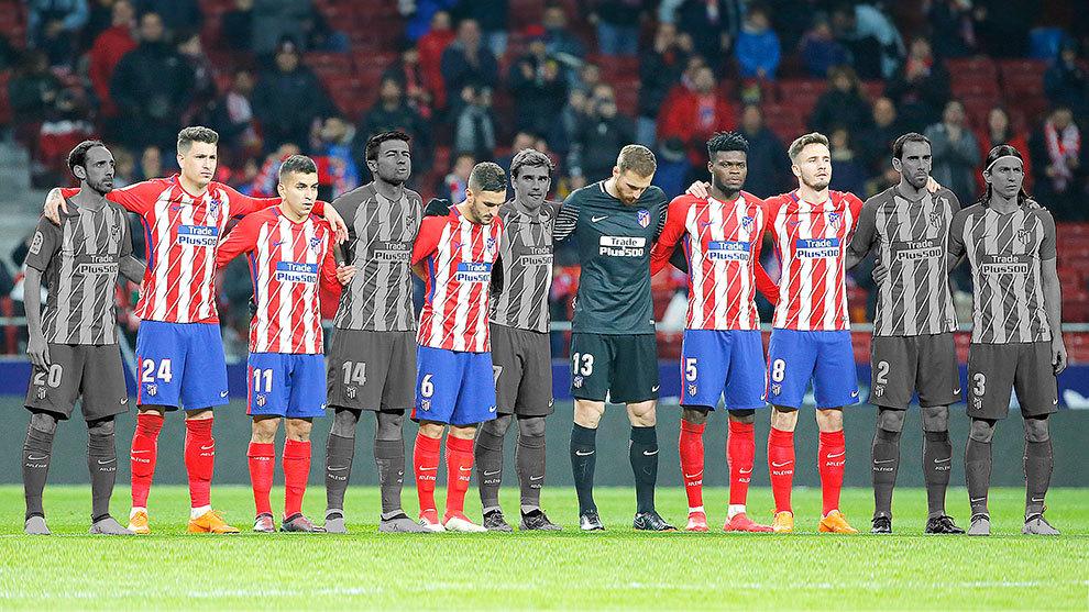 El Atlético, con los de siempre