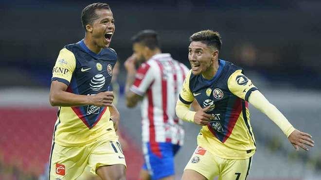 Dos Santos agradeció la titularidad con el gol del triunfo.