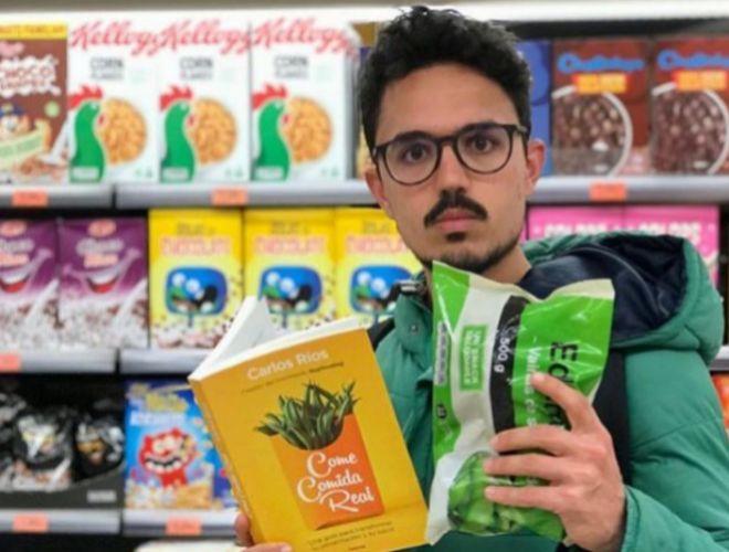 Carlos Ríos, creador del movimiento 'realfooding', basado en comer...