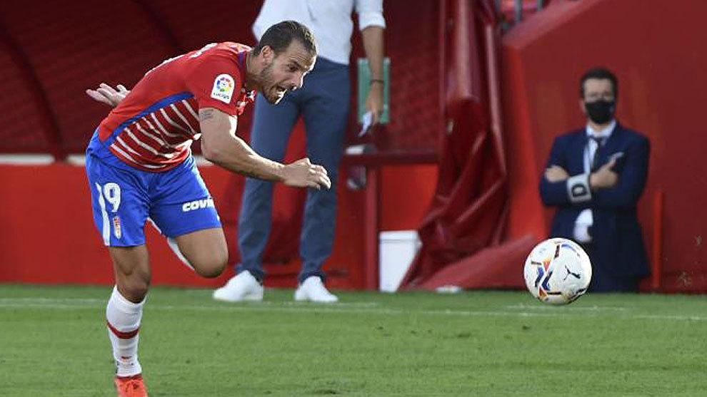 El Granada sigue volando: gol de Soldado