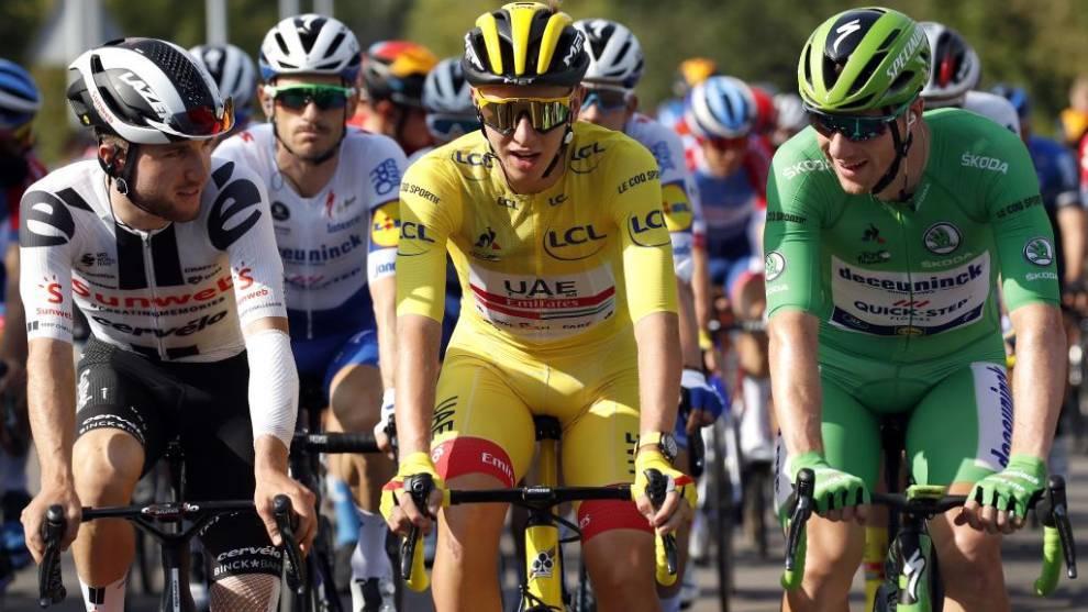 El equipo ideal del Tour: Pogaçar con Van Aert y Carapaz de gregarios, Bennett para los sprints y Landa a agarrarse abajo