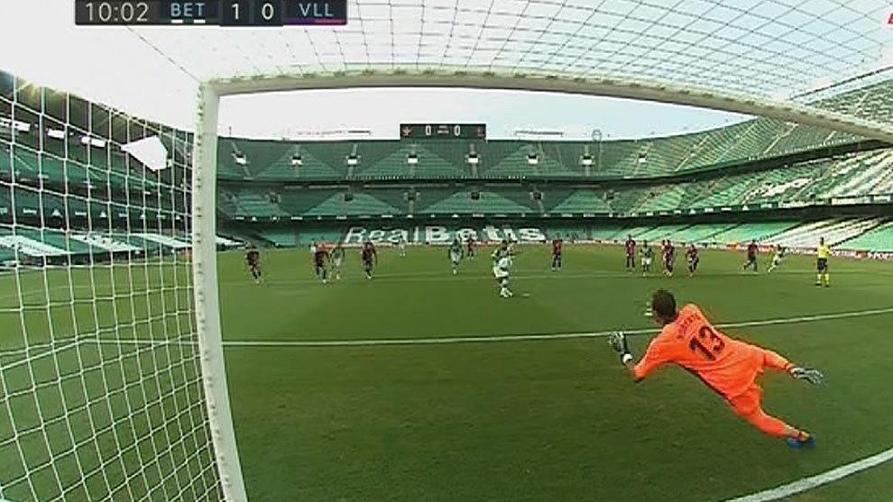 Fekir marca de penalti