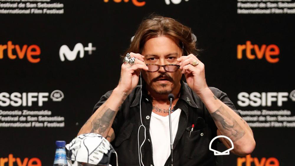 Johnny Depp critica a Donald Trump en el Festival de Cine de San...