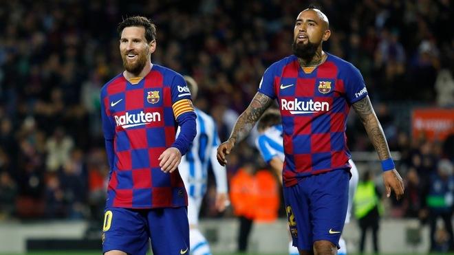 Messi y Vidal compartieron vestidor por dos años.
