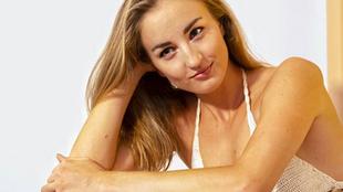 Elena Krawzow, nadadora paralímpica con un 3% de visión por la...