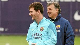 """Zubi desvela a Del Bosque el miedo que tenía Martino con Messi: """"Si llamaba a..."""""""