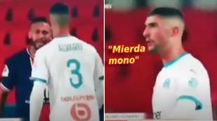 """Confirman el insulto racista de Álvaro a Neymar: """"Mierda mono"""""""