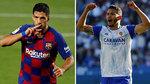Los dos Luis Suárez, en el casting del Atlético para reemplazar a Morata