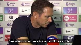 Lampard no se muerde la lengua sobre Kepa