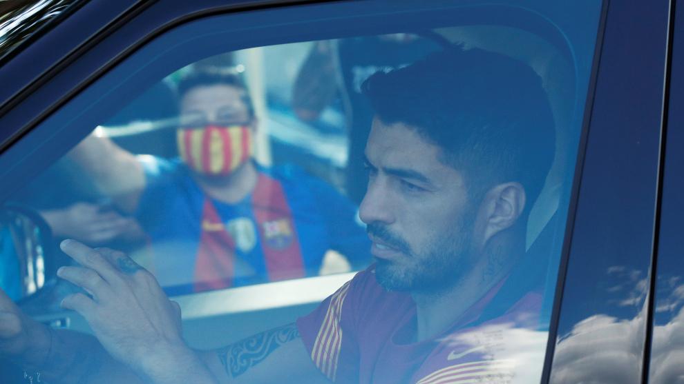 Luis Suárez ya no es más tomado en cuenta en el Barcelona. |