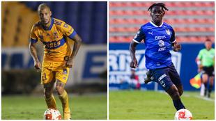 Nicolás López y Ake Loba levantan la mano para destacar en el...