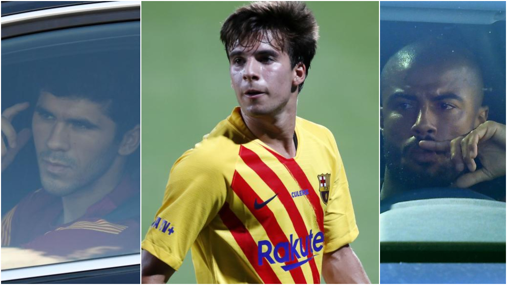 Tough competition: Riqui Puig, Rafinha and Alena all set to stay