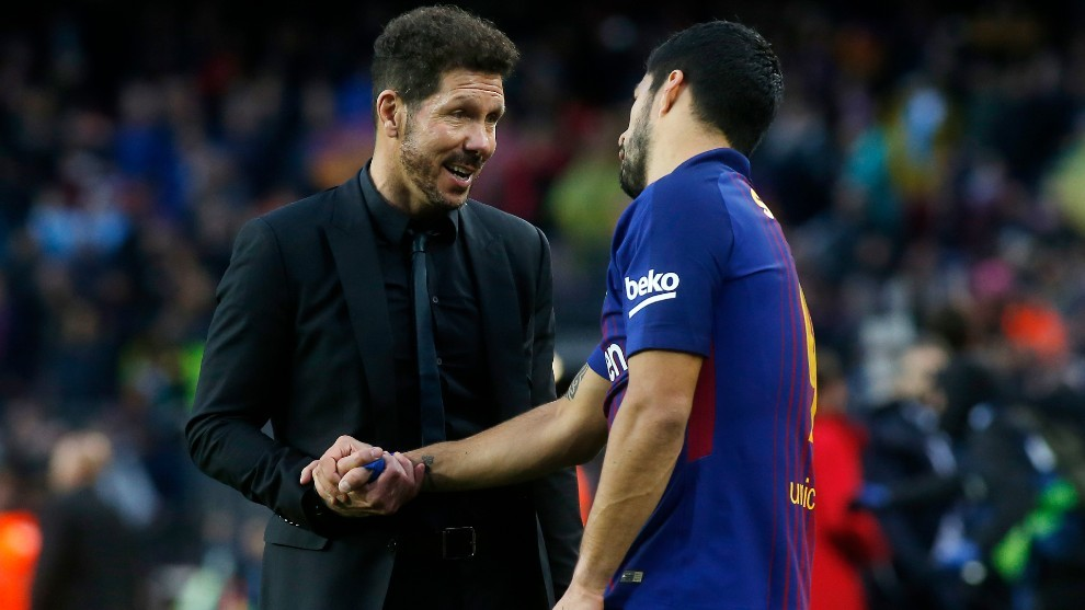 Simeone plays central role in Luis Suarez's move to Atletico Madrid