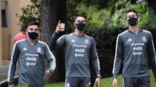 La selección mexicana inicia entrenamientos.