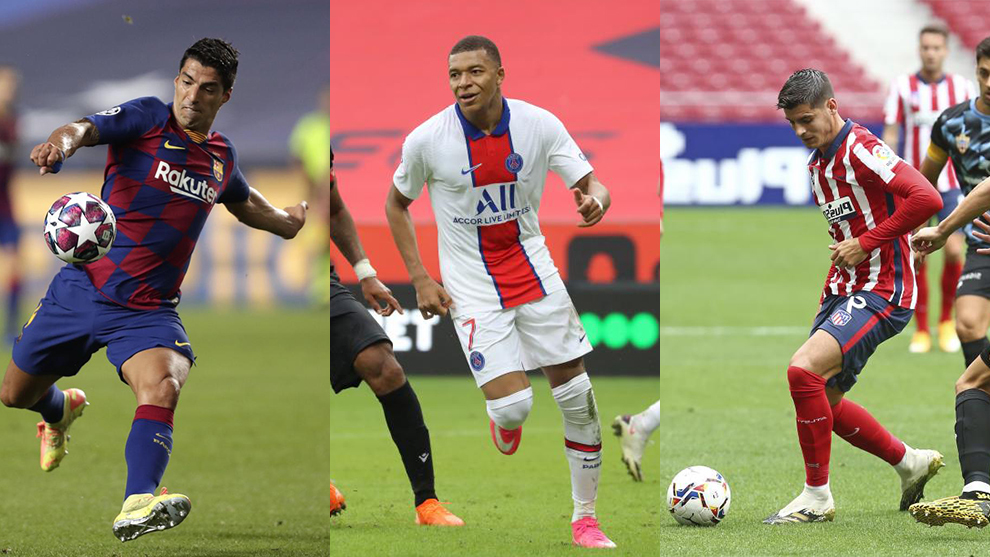 Fichajes hoy: Mbappé, Luis Suárez y Morata protagonistas del Mercado