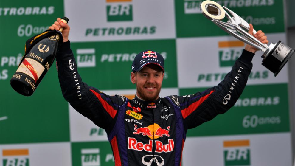Vettel, en su etapa triunfal con Red Bull.