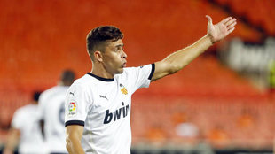 Paulista, en el partido contra el Levante de la primera jornada de...
