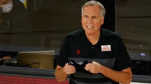 Mike D'Antoni en su etapa al frente de los Rockets