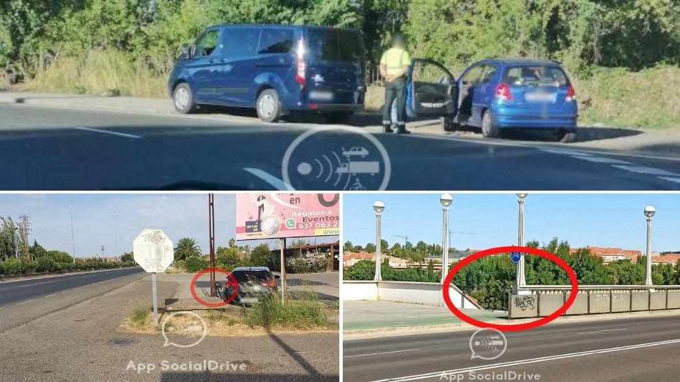 Una furgoneta de la DGT y dos radares móviles localizados por Social...