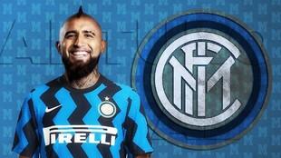 Arturo Vidal firma con el Inter de Milán