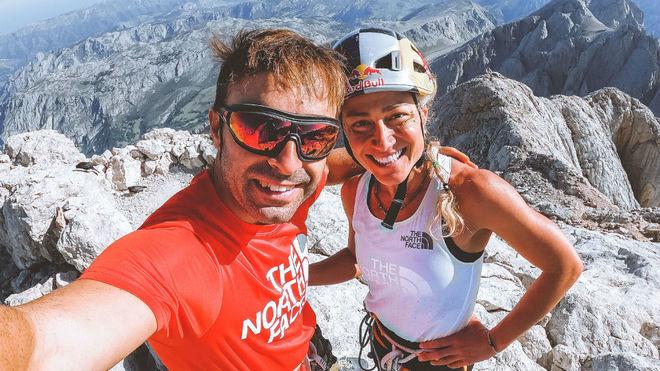 Eneko Pou y Fernanda Maciel.