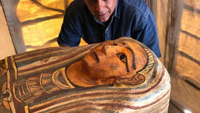 Los sarcófagos intactos de 2.500 años encontrados en Saqqara son ya...
