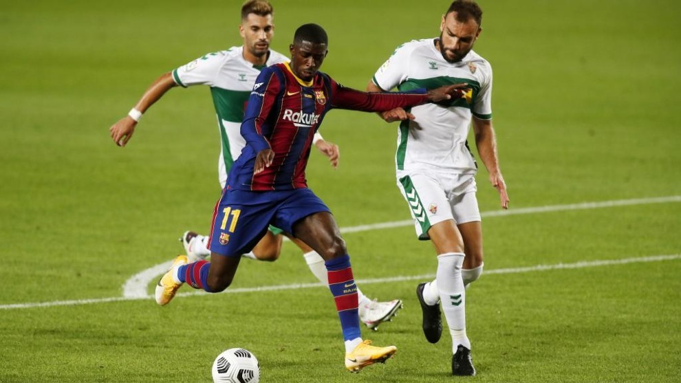 Barcelona give Man Utd conditions to seal deal for Ousmane Dembele