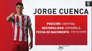 El Villarreal ha cedido a su nuevo fichaje, Jorge Cuenca, al Almeria