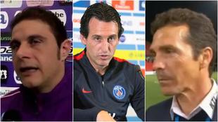 El idioma le juega una mala pasada a Joaquin, Unai Emery y Guillermo...