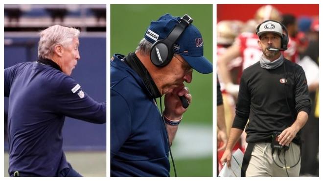 NFL multa a 3 coaches por no usar cubrebocas