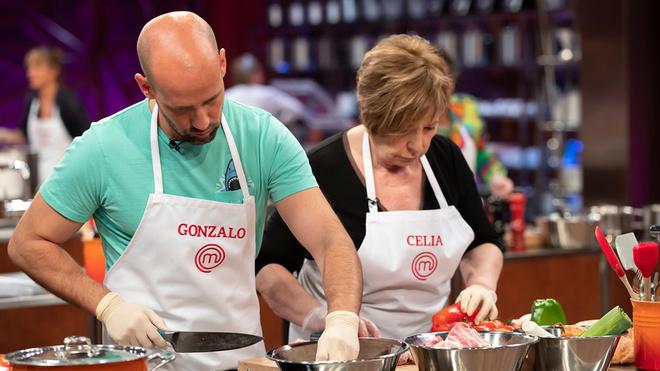 Masterchef Celebrity 5: Gonzalo Miró y Celia Villalobos.