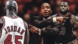 Michael Jordan, Isiah Thomas y LeBron James.