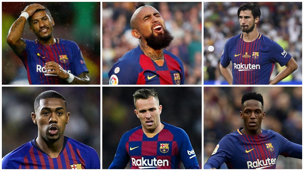 Fichajes y bajas del FC Barcelona desde 2018